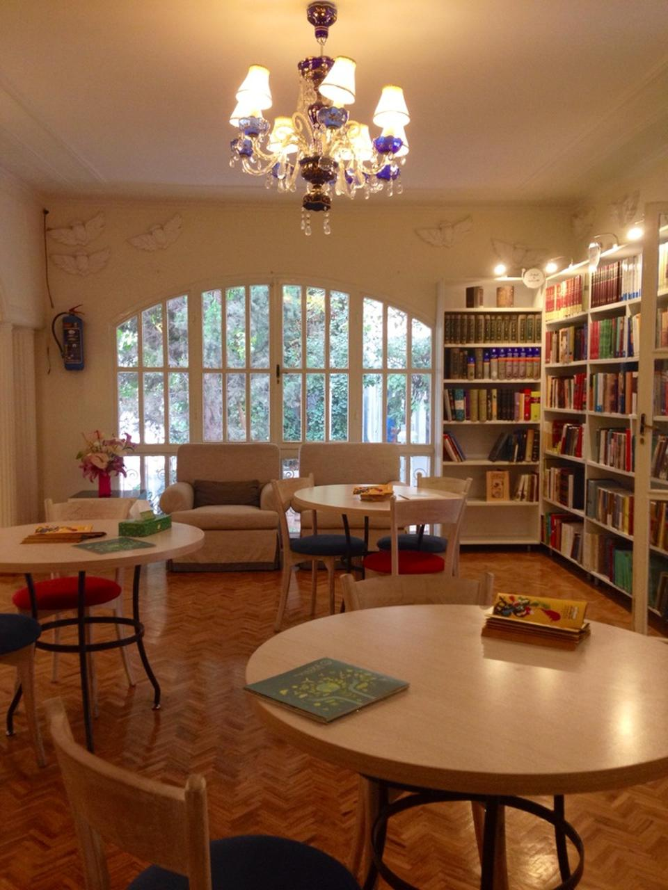 کافه کتاب شهر کتاب فرشته cafe book city fereshteh 5
