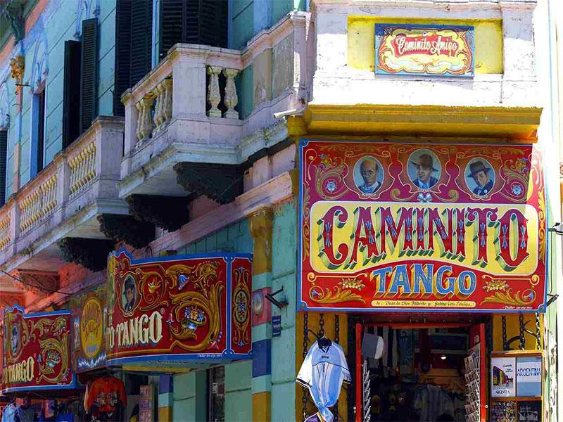 خیابان کامینیتو در بوئنوس ایرس