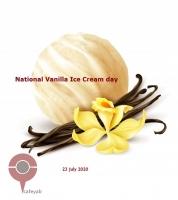 روز جهانی بستنی وانیل