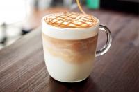 آموزش کافه کافی شاپ طرز تهیه ماکیاتو کارامل