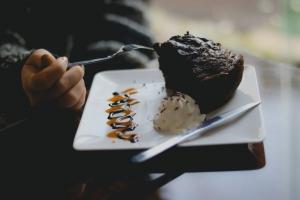 کیک یک اسلایس