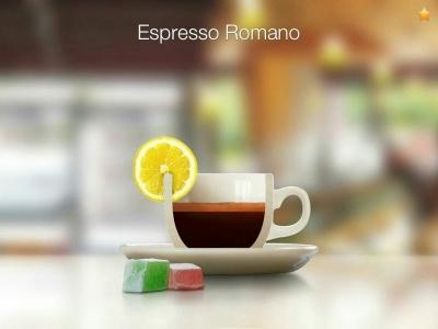قهوه اسپرسو رومانو (Espresso Romano)