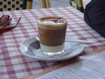 قهوه لِچهای لِچه (Leche y leche coffee)
