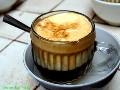 قهوه تِرونگ (Egg coffee)