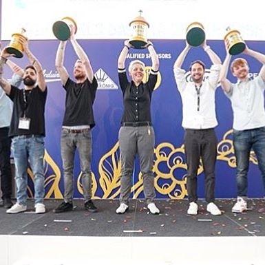 نفرات برتر مسابقات جهانی باریستا ۲۰۱۸   آمستردام