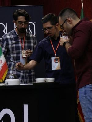 آراس فتاح، نفر سوم مسابقه دم آوری قهوه