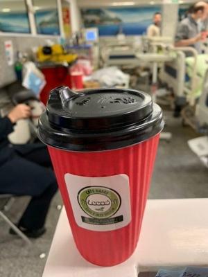 کافه نفس سرو قهوه کروناویروس بیمارستان (3)