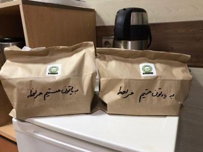 کافه نفس سرو قهوه کروناویروس بیمارستان (7)