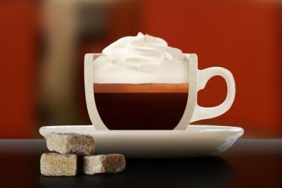 قهوه اسپرِسو کُن پانا (Franziskaner Espresso con panna)