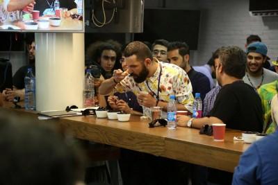 first iranian aeropress championship cafeyab 5
