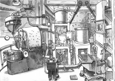 دستگاه های برشته کاری (رست/رستر) قهوه
