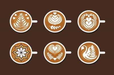 هنر شیر و قهوه (لته آرت-لاته آرت)