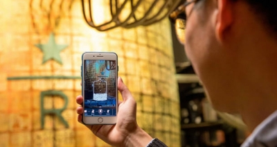 سرو قهوه در کافیشاپ استارباکس با طعم فناوری واقعیت افزوده!