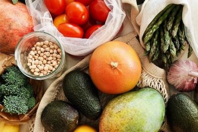 vegetables fruit healthy