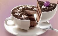 کیک و شیرینیهایی که در کافهها مصرف میشوند