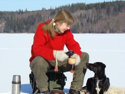 هندپرسو واید هیبرید frozen lake