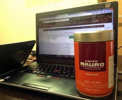 قهوه مائورو دیلوکس قوطی فلزی coffee mauro deluxe 1